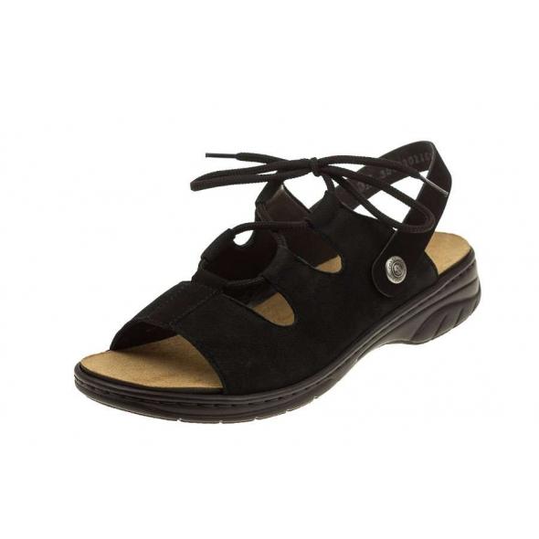 Rieker 64570-00 wygodne damskie sandały
