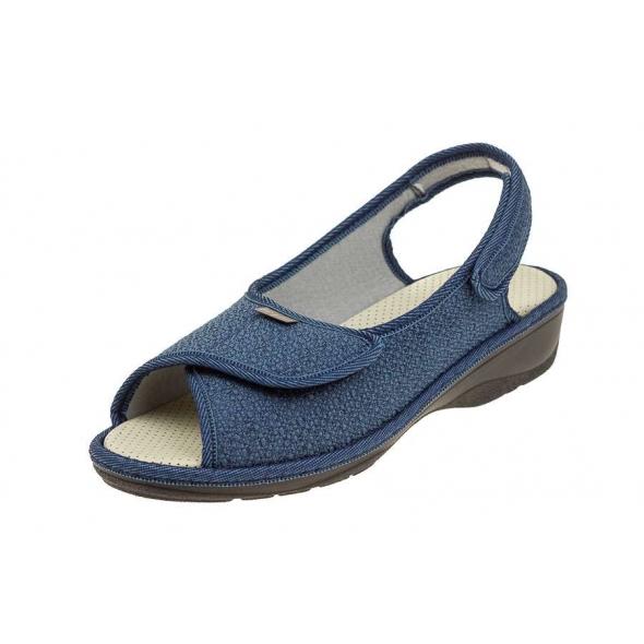 Fargeot Patricia Marine wygodne damskie sandały