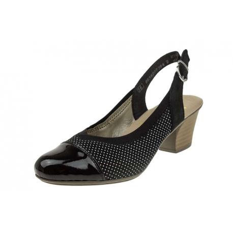 Rieker 45071-00 wygodne damskie sandały