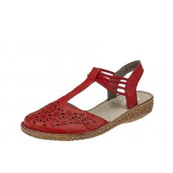 Rieker M0978-33 wygodne damskie sandały