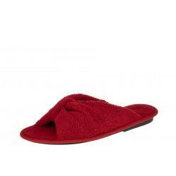 Inblu 155D100 czerwone wygodne damskie kapcie
