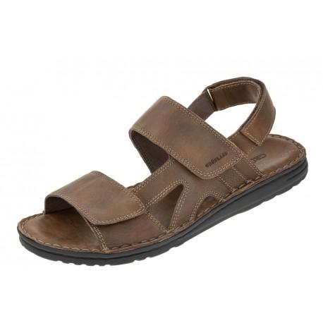Grunland Lapo SA2461-80 wygodne męskie sandały