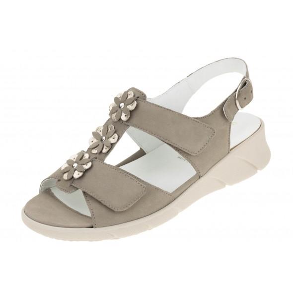 Waldlaufer K-Kia 671003 200 921 wygodne zdrowotne damskie sandały