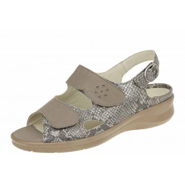 Waldlaufer Merle 811004 381 569 wygodne zdrowotne damskie sandały