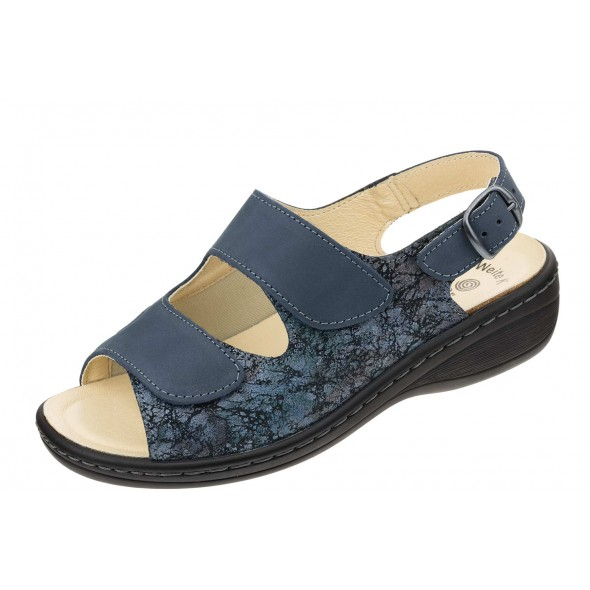 Dr Brinkmann 710003 wygodne zdrowotne damskie sandały