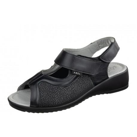 Axel Comfort 2463 czarne damskie sandały