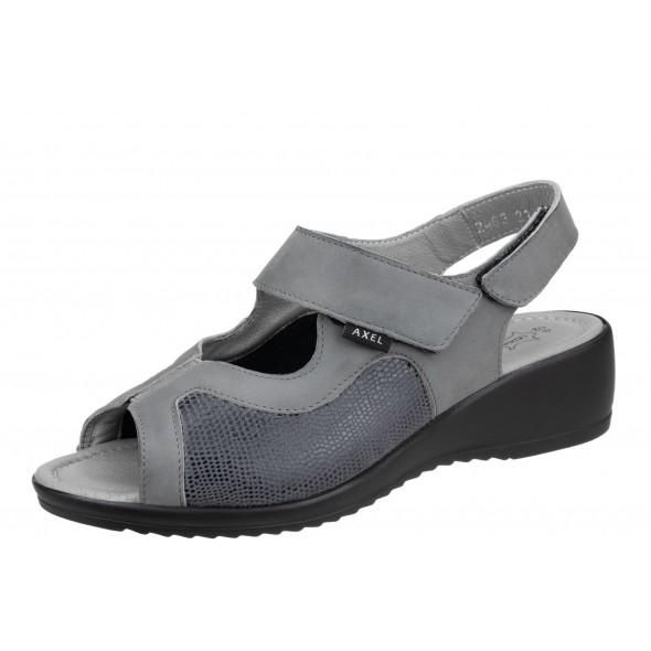 Axel Comfort 2463 szare wygodne damskie sandały