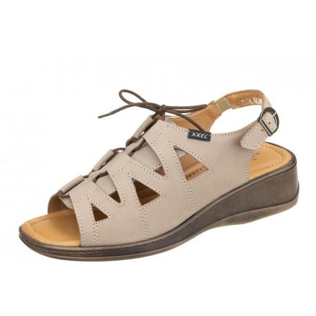 Axel Comfort 2479 beżowe wygodne damskie sandały