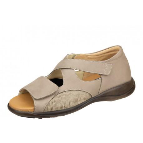 Axel Comfort 2466 beżowe wygodne damskie sandały
