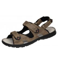 Lesta 1133 beżowe wygodne męskie sandały