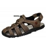 Lesta 1095 beżowe męskie sandały