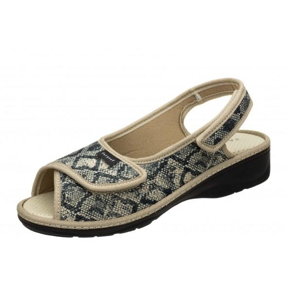 Fargeot Padima Beige wygodne zdrowotne damskie sandały