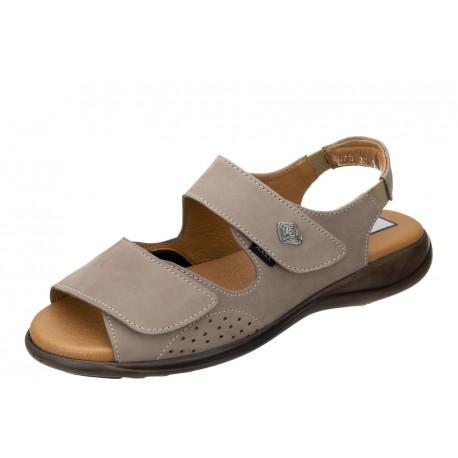 Axel Comfort 2473 wygodne zdrowotne beżowe damskie sandały