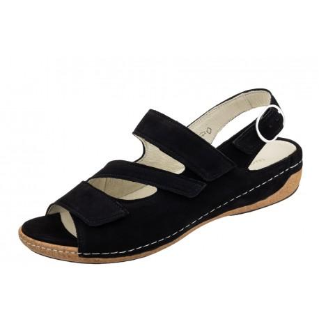 Waldlaufer Heliett 342026 191 001 wygodne zdrowotne damskie sandały