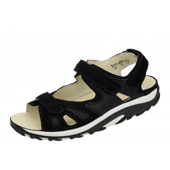 Waldlaufer Hanni 448001 692 001 wygodne zdrowotne damskie sandały