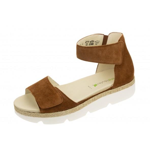 Waldlaufer H-Sissy 770802 195 082 wygodne zdrowotne damskie sandały