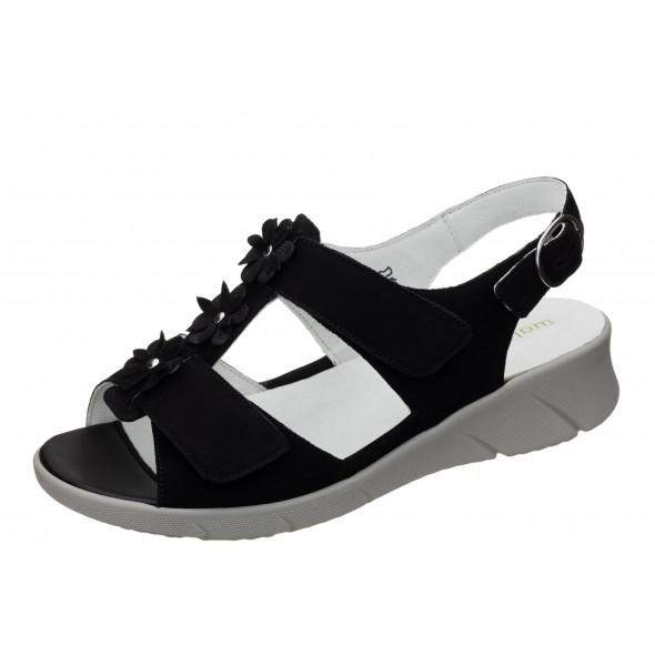 Waldlaufer K-Kia 671003 201 001 wygodne zdrowotne damskie sandały