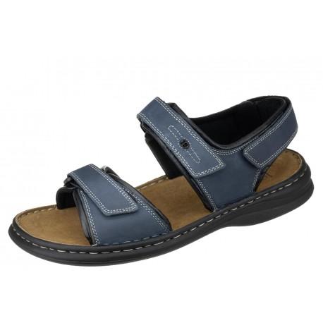 Josef Seibel Rafe 10104 11 582 wygodne zdrowotne męskie sandały