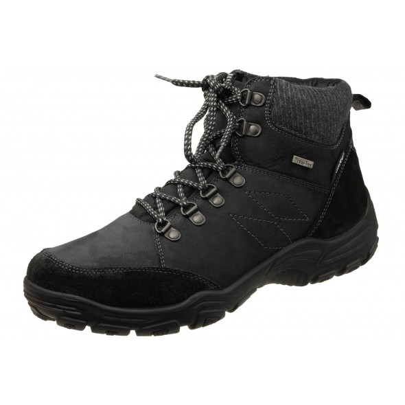 Manitu Polar Tex 670646 wygodne zdrowotne męskie botki trekkingi