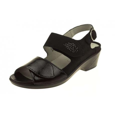 Waldlaufer Kirbie 653013 868 001 wygodne damskie sandały